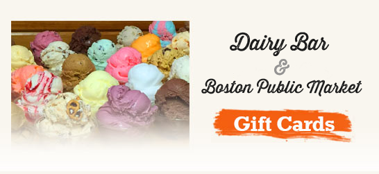 Purchase a Dairy Bar Gift Certificate